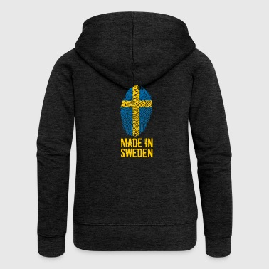 Made In Sweden / Sweden / Sverige - Women's Premium Hooded Jacket