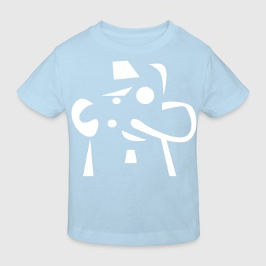 Fred Face - Kids' Organic T-shirt