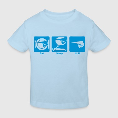 ulm eat sleep play  - T-shirt bio Enfant