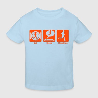 marathon 30 eat sleep play  - T-shirt bio Enfant