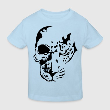 tribal tete mort dead leopards2 - T-shirt bio Enfant
