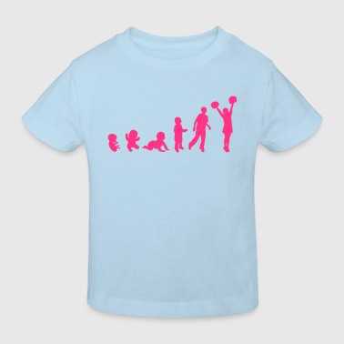 evolution femme sport cheerleading2 - T-shirt bio Enfant