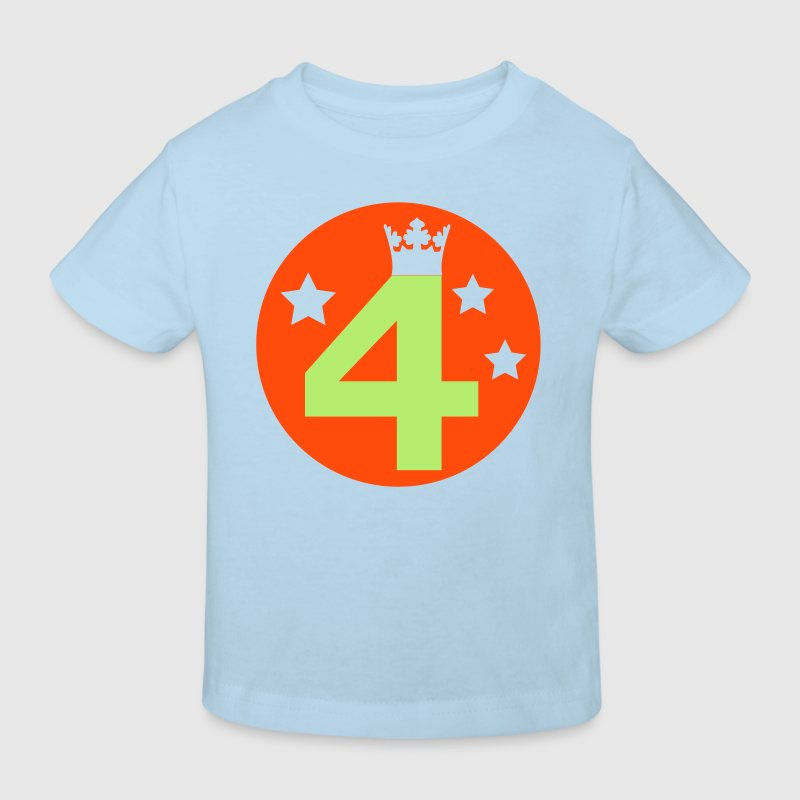 I am 4 years old! - Kids' Organic T-shirt