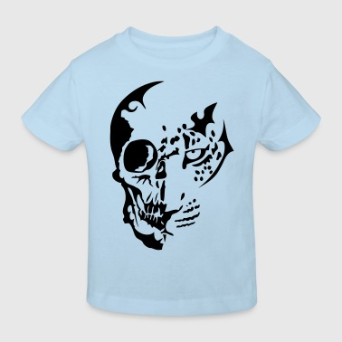 tribal tete mort dead leopards1 - T-shirt bio Enfant