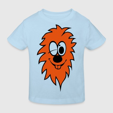 lion rigolo - T-shirt bio Enfant