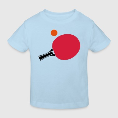 raquette tennistable pingpong racket2 bal - T-shirt bio Enfant