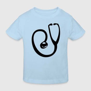 stethoscope medecin docteur intrument - T-shirt bio Enfant