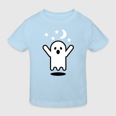 Glow in the dark ghost - Kinderen Bio-T-shirt