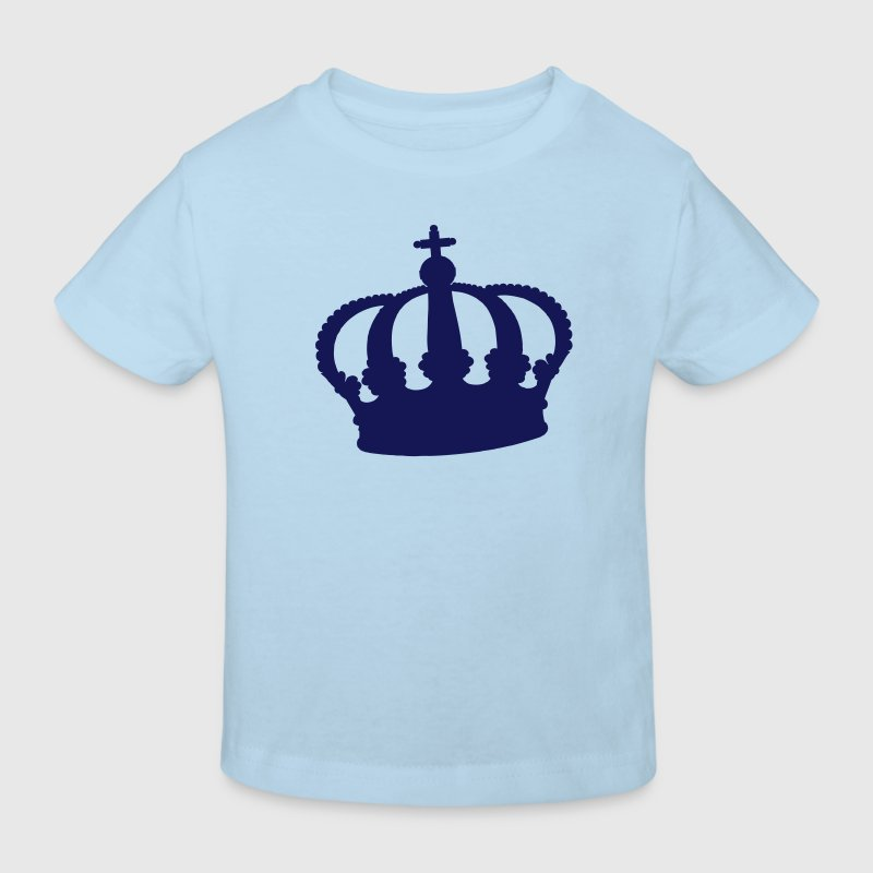 crown - queen - king - Kids' Organic T-shirt