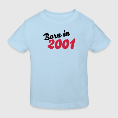 Born in 2001 - Kinder Bio-T-Shirt