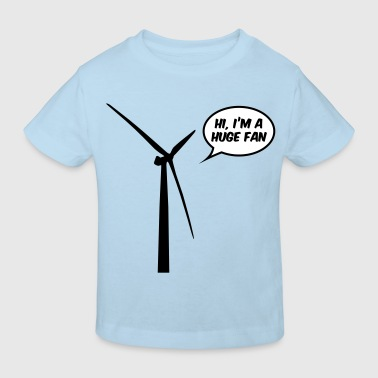 Huge Fan - Kinderen Bio-T-shirt