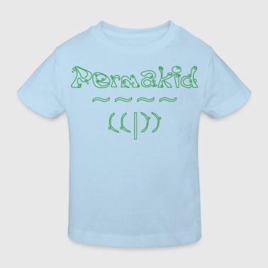 Permakid and waves - T-shirt bio Enfant