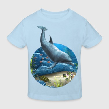 The World Of The Dolphin - Kinder Bio-T-Shirt