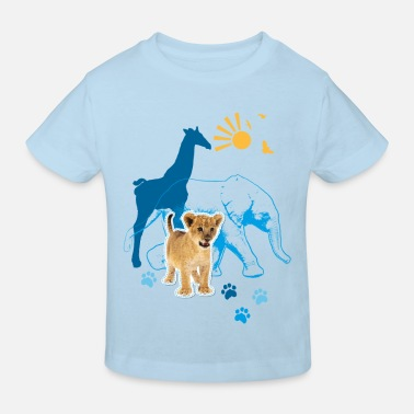 South Africa Animal Planet Animals Kid's T-Shirt - Kids' Organic T-Shirt