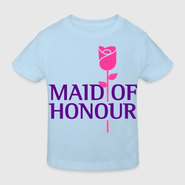 The maid of honor - Kids' Organic T-shirt