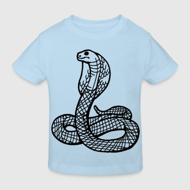 Serpent Reptiles serpent - T-shirt bio Enfant