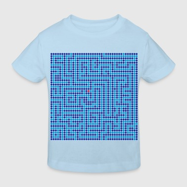 Labyrinth - Maze - meander - Kids' Organic T-Shirt