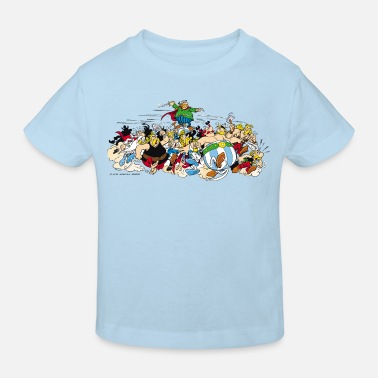 Comic Asterix & Obelix - Attacke - Kinder Bio-T-Shirt