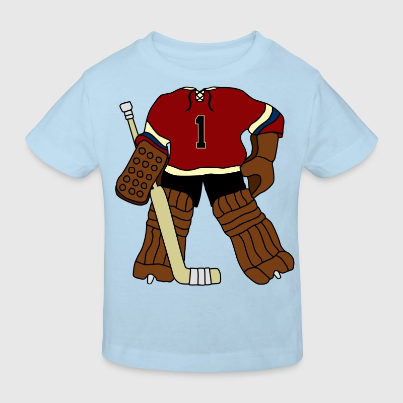Vintage Ice Hockey Goalie - Kids' Organic T-shirt
