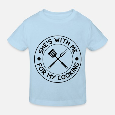Cutlery Dad Cooking Chef Chef - Kids' Organic T-Shirt