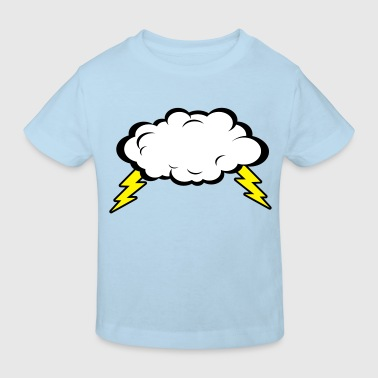 Thunder Cloud - Kids' Organic T-shirt