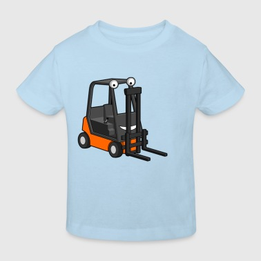 Happy Forklift - Kinder Bio-T-Shirt