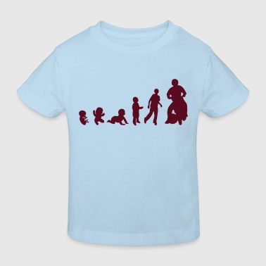 evolution motoball course jeu1 - T-shirt bio Enfant