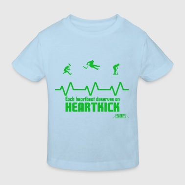 heartbeat trottinette - T-shirt bio Enfant