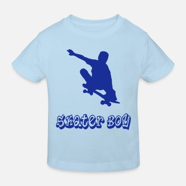 Skater Graffiti skater boy graffiti style - Kinder Bio-T-Shirt