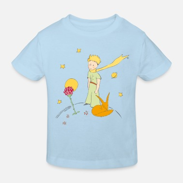 The Little Prince Travels With Birds - Kids' Organic T-Shirt