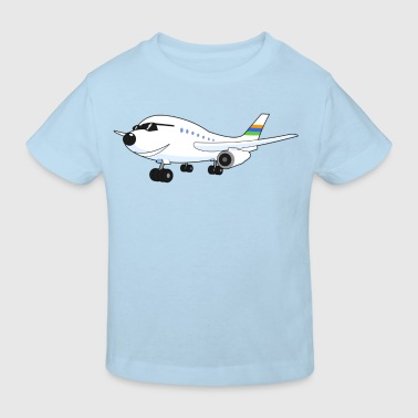 Happy Airplane - Kinder Bio-T-Shirt