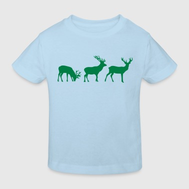 animation cerf deer1 - T-shirt bio Enfant