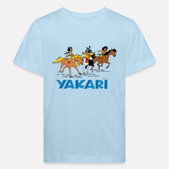 Yakari Kleiner Donner Kinder T-Shirt