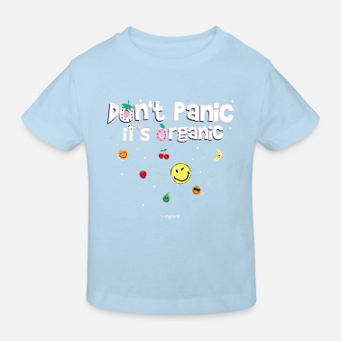 SmileyWorld Don't Panic It's Organic - Kids' Organic T-Shirt