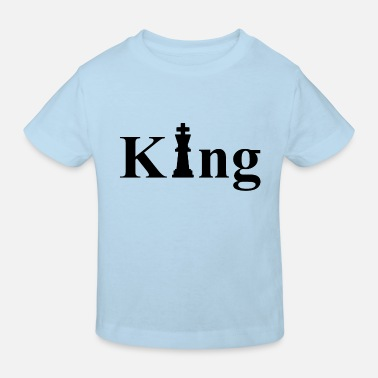 Character King Chess King Chess Game Character - Kinderen bio T-shirt