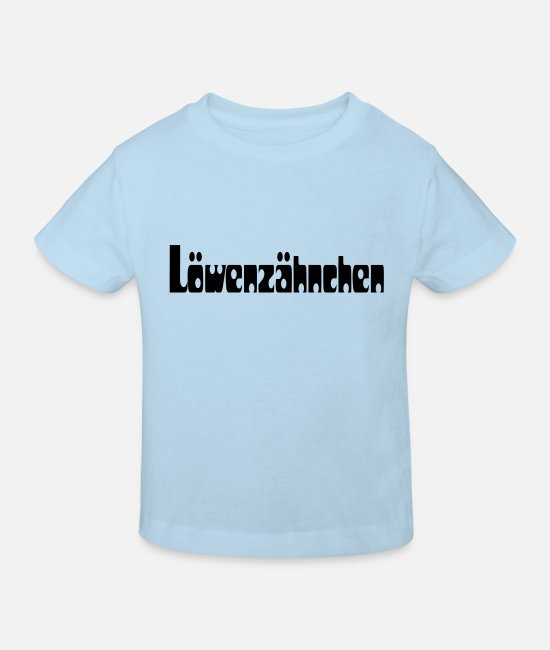 Love Baby Clothes - loewenzähnchen - Kids' Organic T-Shirt light blue