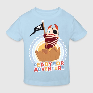 Sorgenfresser Flint Ready For Adventure - Kinder Bio-T-Shirt
