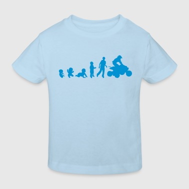 evolution human quad 802 Tee shirts Enfants - T-shirt bio Enfant