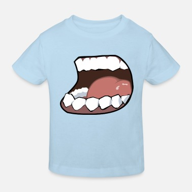 Mouth Hunger, mouth, mouth - Kids' Organic T-Shirt