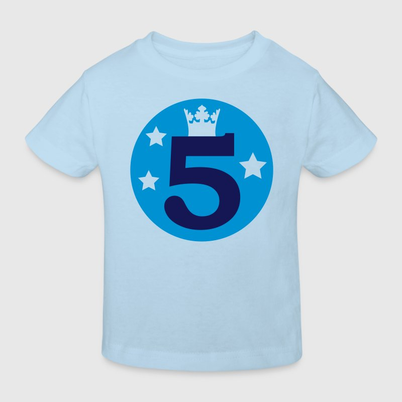 I am 5 years old! - Kids' Organic T-shirt