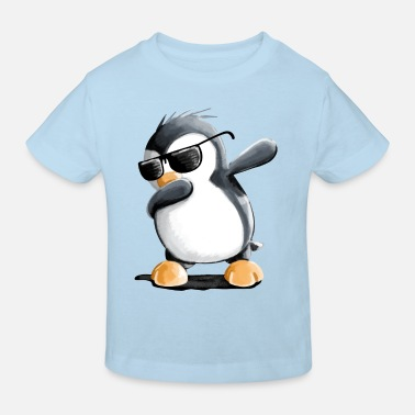 Humor Dabbing Pinguin - Dab Dance - Cool - Comic - Fun - Kinder Bio T-Shirt