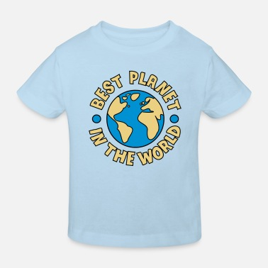 Save The Planet Best Planet - Kids' Organic T-Shirt
