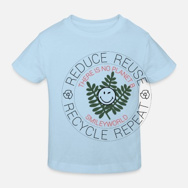 SmileyWorld Reduce Reuse Recycle Repeat - Ekologisk T-shirt barn