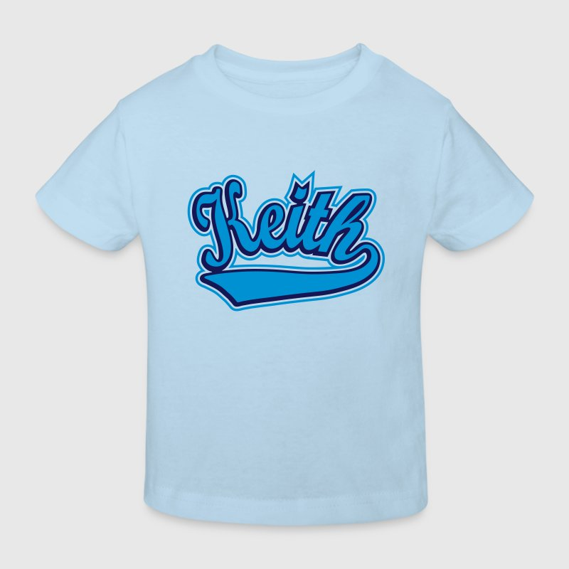 Keith - T-shirt Personalised with your name - Kids' Organic T-shirt