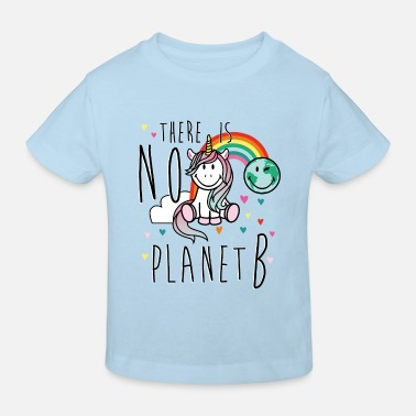 SmileyWorld There is No planet B - Kids' Organic T-Shirt