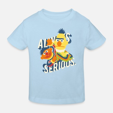 Sesamstraße Always Serious - Kinder Bio T-Shirt