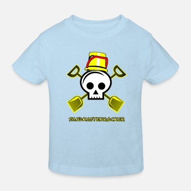 Sandbox Sandbox rocker sandbox child kindergarten - Kids' Organic T-Shirt