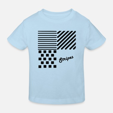 Strip Stripes, Stripes, Patterns - Ekologisk T-shirt barn