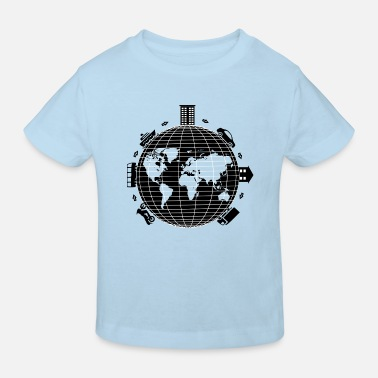 Transport transport - T-shirt bio Enfant