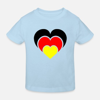 National Team A heart for the national teams - Kids' Organic T-Shirt
